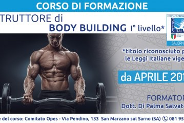 Corso di Formazione Istruttore Body Building