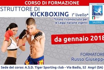 Corso di Formazione Kick Boxing I Livello