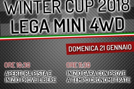 MINI4WD – VINCITORI WINTER CUP 2018!