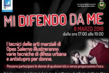 Festa della donna – Mi difendo da me – Opes Salerno