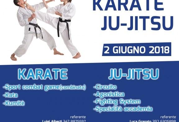 02 Giugno 2018 – Campionato Regionale Karate e Ju-Jitsu – Nocera Inferiore (SA)