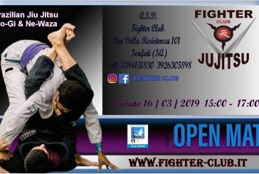 L'Opes Salerno in collaborazione con l'ASD Fighter Club organizza l'OPEN MAT