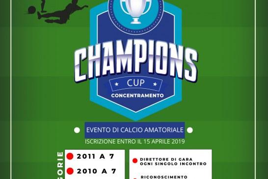 Calcio – Champions Cup – Concentramento solo il mese di Maggio.Opes Salerno