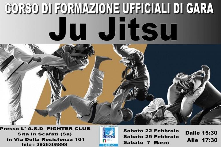 Corso formazione ufficiali gara ju jitsu - opes salerno